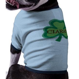 Ciaran Irish Name Doggie Shirt