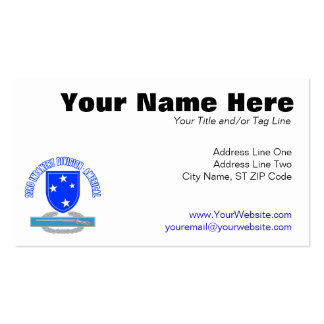 CIB 23 Inf Div (Americal) Pack Of Standard Business Cards