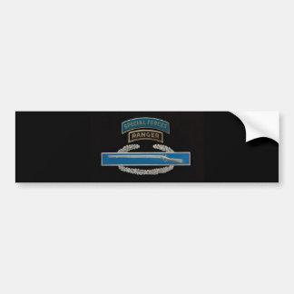 CIB Special Forces Ranger Bumper Sticker