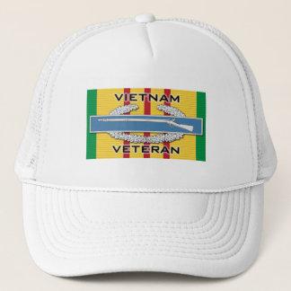 CIB Vietnam Veteran Trucker Hat