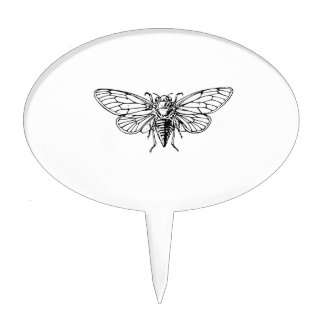 Cicada Cake Toppers
