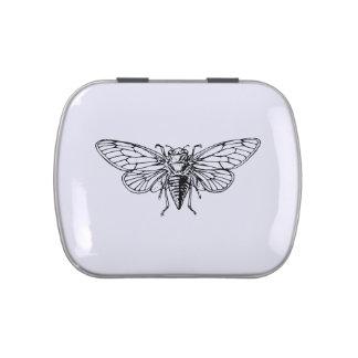 Cicada Candy Tin