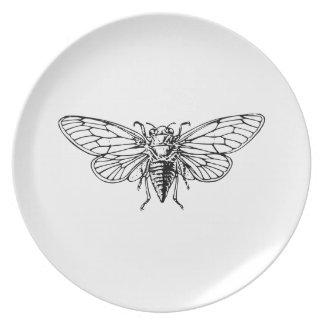 Cicada Dinner Plate