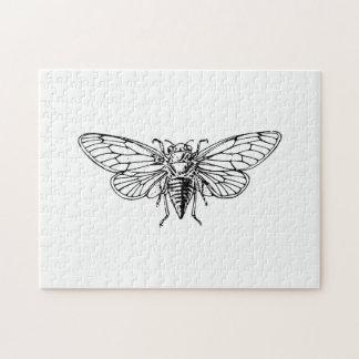 Cicada Jigsaw Puzzle