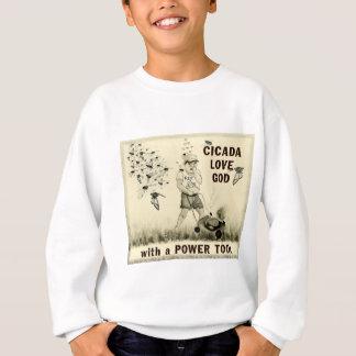 Cicada Love God with a Power Tool Tee Shirt
