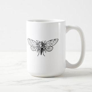 Cicada Classic White Coffee Mug
