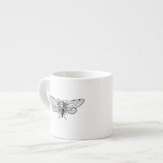 Cicada 6 Oz Ceramic Espresso Cup
