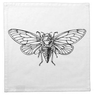 Cicada Cloth Napkins