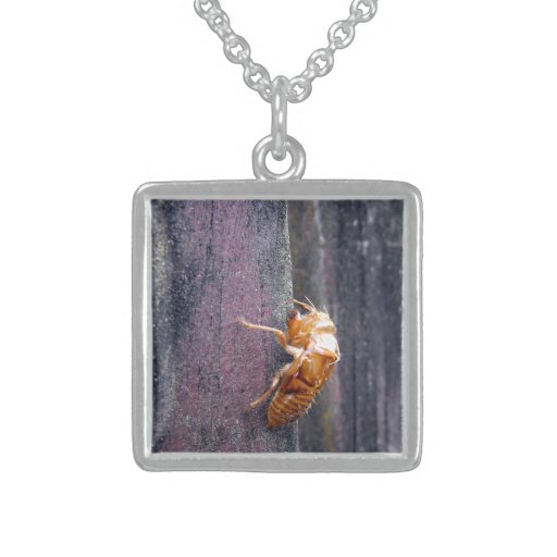 Cicada Nymph Personalized Necklace