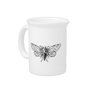 Cicada Beverage Pitchers