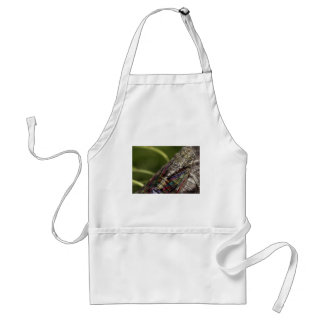 Cicada stained glass standard apron