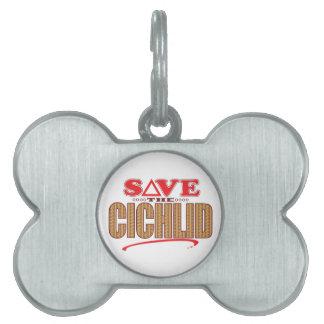 Cichlid Save Pet ID Tag