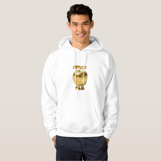 CiderFam Gold/White PullOver Hoodie -My Time