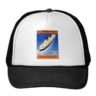 Cie Gle Transatlantique Trucker Hats
