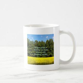 Cielo árboles y flores 18.02.02 coffee mugs