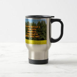 Cielo árboles y flores 18.02.07 mugs