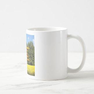 Cielo árboles y flores 18.02.07 coffee mug