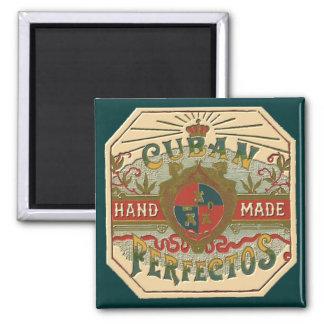 Cigar Ad Cuban Perfectos Refrigerator Magnets