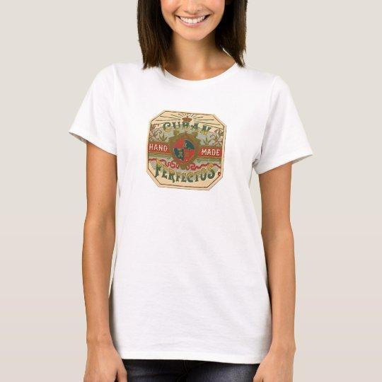 Cigar Ad Cuban Perfectos Vintage Tobacco T-Shirt