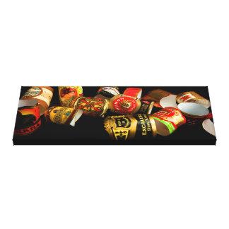 Cigar Art Club Gallery Wrapped Canvas