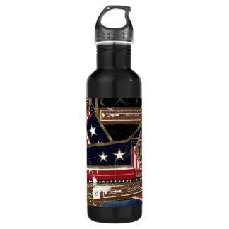 cigar bands 710 ml water bottle