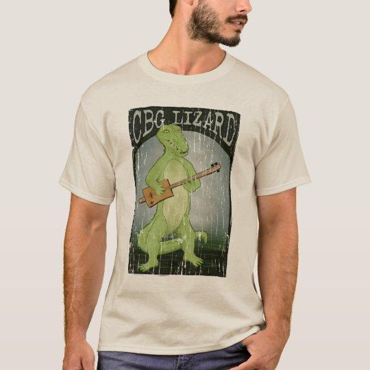 Cigar Box Guitar Lizard T-Shirt