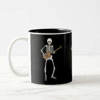 Cigar Box Guitar Skeleton Mug