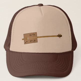Cigar Box Guitar Trucker Hat