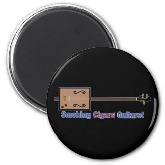 Cigar Box Smoking Guitars Magnets