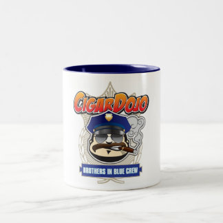 Cigar Dojo Brothers in Blue Crew Mug