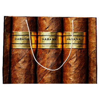 Cigar Havana Cigars Cuban Smoke Clube Luxury Gift Large Gift Bag