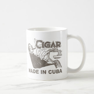 Cigar Made In Cuba Coffee Mug