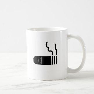 Cigar Basic White Mug