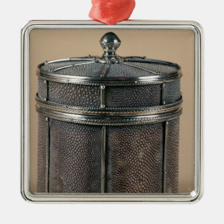 Cigarette box with shagreen sides, 1928 christmas ornament