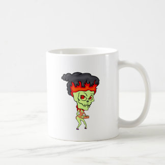 Cigarette Ghoul Basic White Mug