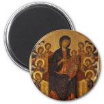 Cimabue Art Work 6 Cm Round Magnet