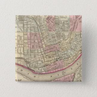 Cincinnati 2 15 cm square badge
