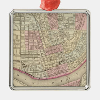 Cincinnati 2 christmas ornament