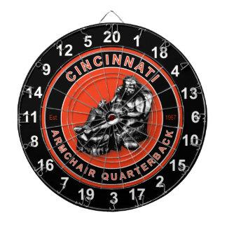 Cincinnati Armchair Quarterback Football Dartboard