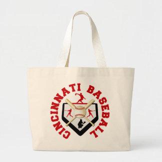 Cincinnati Baseball Canvas Bag