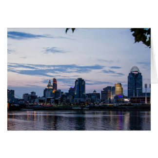 Cincinnati  by Night Card