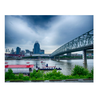 Cincinnati City in Ohio Postcard