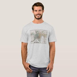Cincinnati Historical Map T-Shirt