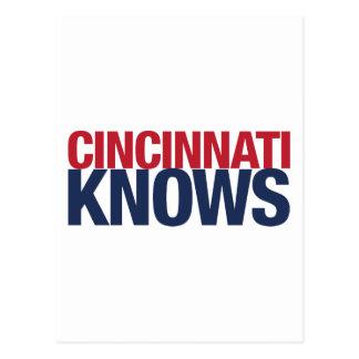 Cincinnati Knows Post Cards