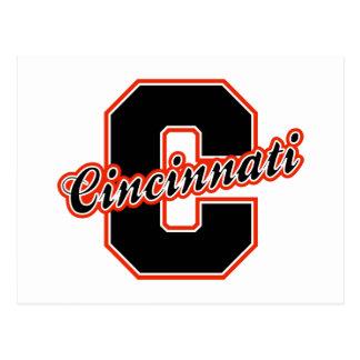 Cincinnati Letter Postcard