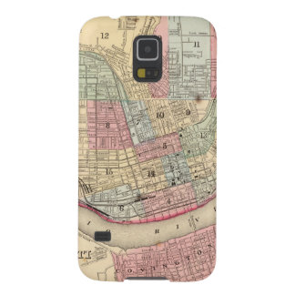 Cincinnati Map by Mitchell Cases For Galaxy S5