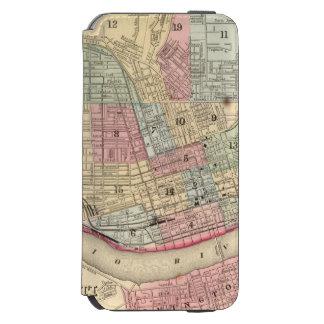 Cincinnati Map by Mitchell Incipio Watson™ iPhone 6 Wallet Case
