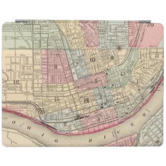 Cincinnati Map by Mitchell iPad Cover