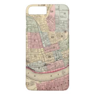 Cincinnati Map by Mitchell iPhone 8 Plus/7 Plus Case