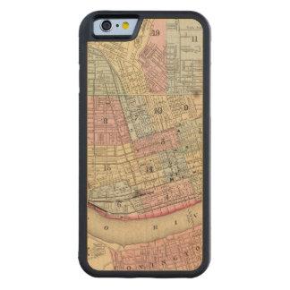 Cincinnati Map by Mitchell Maple iPhone 6 Bumper Case